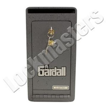 "Picture of Gardall 9 ¼"" H x 6"" W x 7"" D Under Counter Deposit Safe with Dual Key Locking"