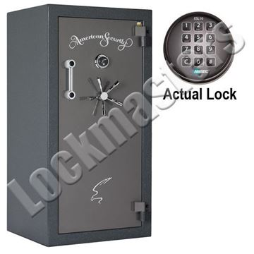 "Picture of AMSEC BF Series  59-1/4"" H x 30"" W x  26"" D"" Gun Safe with AMSEC ESL10XL Electronic Lock"