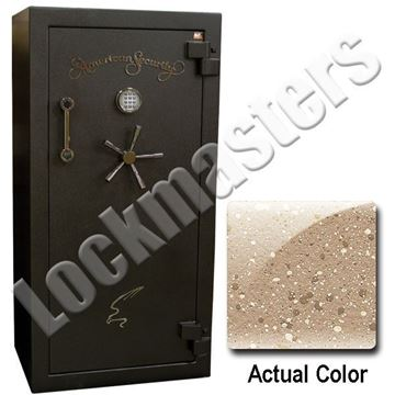 "Picture of AMSEC BF Series 59-1/4"" H x 30"" W x  26"" D Gun Safe with AMSEC ESL10XL Lock"