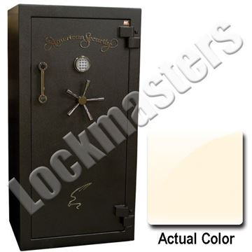 "Picture of AMSEC BF Series 59-1/4"" H x 30"" W x  21"" D Gun Safe with Lock: AMSEC  ESL10XL Lock"