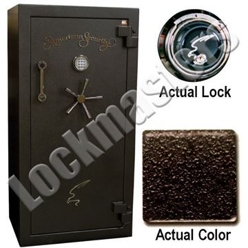 "Picture of AMSEC BF Series 59 1/4"" H x 30"" W x  21"" D Gun Safe with AMSEC Mechanical Lock"
