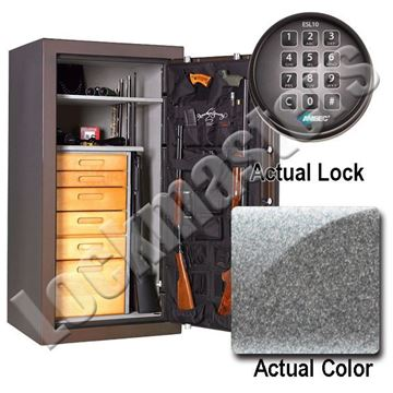 """Picture of AMSEC NF Series 59"""" H x 30"""" W x 26"""" D Gun Safe with AMSEC ESL10XL Electronic Lock"""