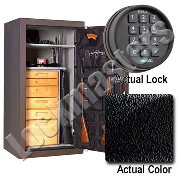 """Picture of AMSEC NF Series   59"""" H x 30"""" W x 26"""" D Gun Safe with AMSEC ESL5 Electronic Lock"""