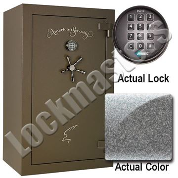 "Picture of AMSEC NF Series 59"" H x 36"" W x 26"" D Gun Safe with AMSEC ESL10XL Electronic Lock"
