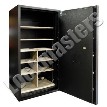 "Picture of AMSEC RF Series High Security Outside Dimensions: 76"" H x 42"" W x 29-1/4"" D Gun Safe with AMSEC ESL10XL Electronic Lock"