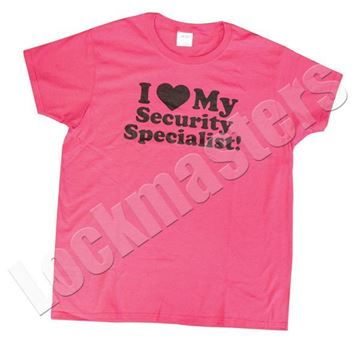Ladies Security Specialist t-shirt image