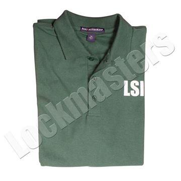 LSI Classic Dark Green Polo