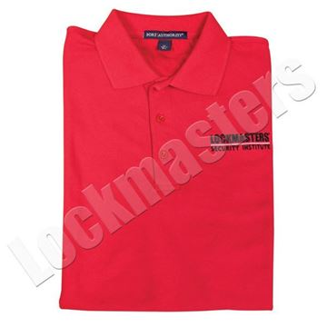 LSI Classic Red Logo Polo