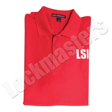 LSI Classic Red Polo