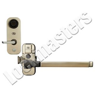 Picture of S&G 2890 Pedestrian Door Lock; Full Crash Bar