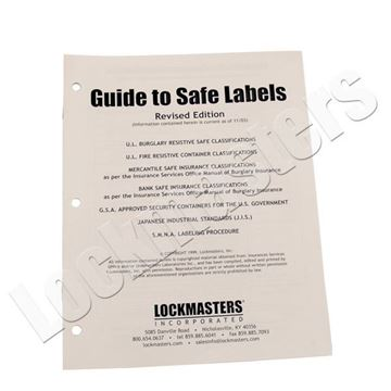 Picture of Guide to Safe Labels