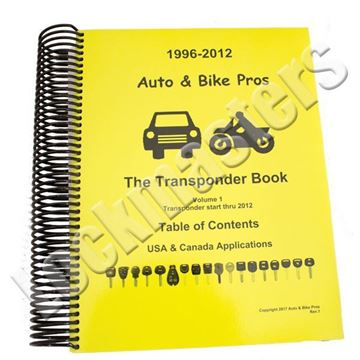 Picture of 2017 Josh Heath Transponder Book Volume 1 of 2