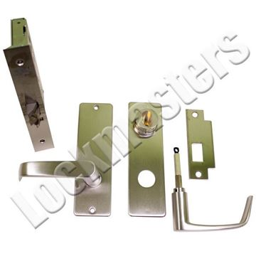 Picture of Corbin Mortise Storeroom Lever Lock-Satin Chrome Finish
