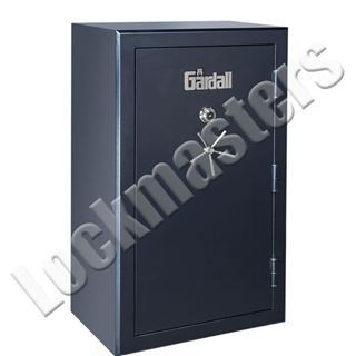 "Picture of Gardall 72"" h x 42"" w x 27-1/2"" d Gun Safe; Matte Black with Mechanical Lock"