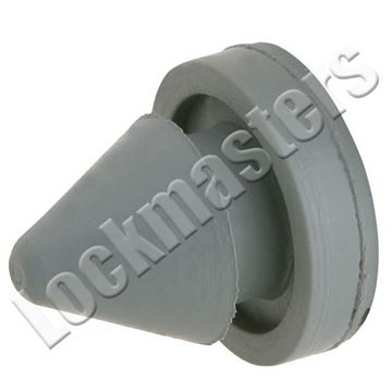 """Picture of IVES 1/2"""" Door Silencer for Metal Frames; Gray"""