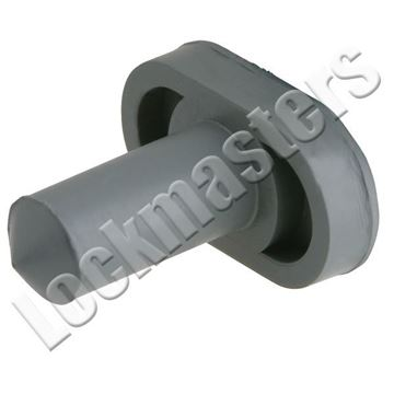 """Picture of IVES 3/4"""" Door Silencer for Wood Frames; Gray"""