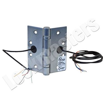 Picture of Command Access 4 Wire Electrified Transfer Hinge - Satin Chrome