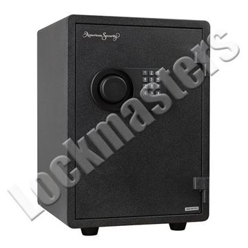 "Picture of AMSEC 8-3/8"" x 14"" Imported Fire Safe with AMSEC ESL5 Lock"