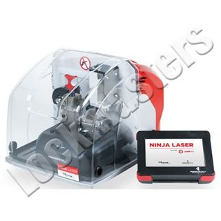 Picture of Keyline Ninja Laser Code Cutting Key Machine for Edge Cut and High Security