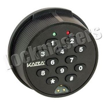 Picture of Kaba Mas Auditcon Model 252 Time Delay Dead Bolt Lock Package - Round Keypad