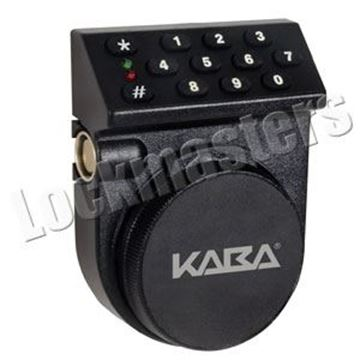 Picture of Kaba Mas Auditcon Model 252 Time Delay Dead Bolt Lock Package - Vertical Keypad