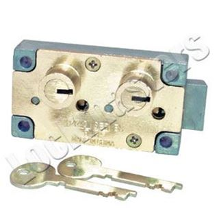 Picture of Bullseye S&G 4440 Replacement Right Hand Safe Deposit Lock