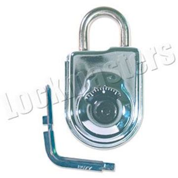 Picture of S&G 8077 Exposed Shackle Combination Padlock