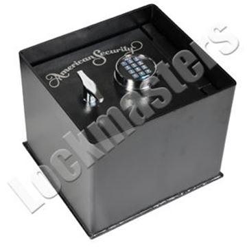 """Picture of AMSEC Brute Series 12-1/4"""" x 13-1/4"""" Floor Safe with AMSEC ESL5 Lock - SLOT"""