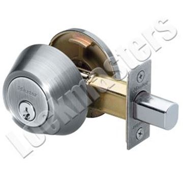 Picture of Master Lock Single Cylinder Deadbolt - Satin Nickel Finish, SC1 Keyway