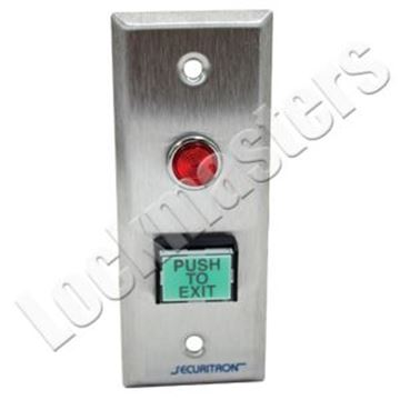 Picture of Securitron Narrow Push Button Switch