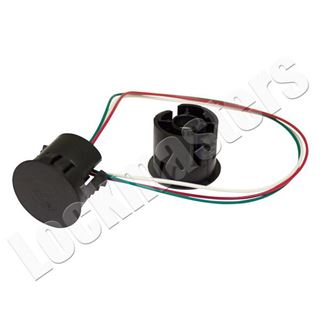 "Picture of 1"" Dia. Recessed balanced magnet:"