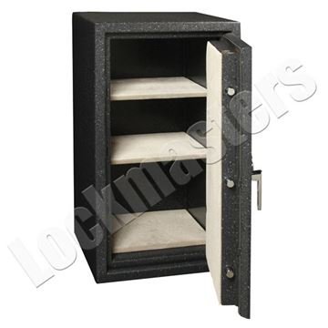 "Picture of AMSEC BF Series 34"" x 16"" UL Listed Fire Rated Burglary Safe with AMSEC ESL10 Lock"