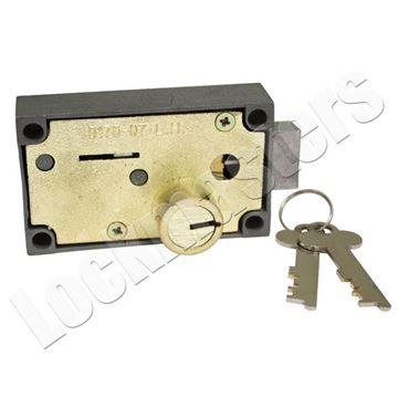 Picture of Bullseye 175-07 Safe Deposit Lock - Left Hand