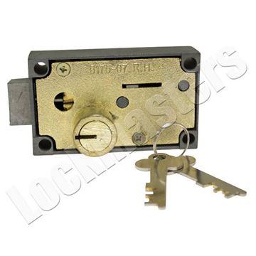 Picture of Bullseye 175-07 Safe Deposit Lock