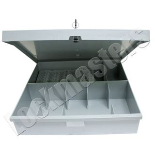 Picture of 6 Compartment Cash Drawer Kit with Coin Scoops
