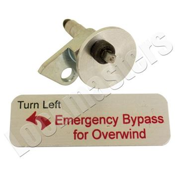 Picture of Lockmasters' Diebold Emergency Overwind Bypass Trigger