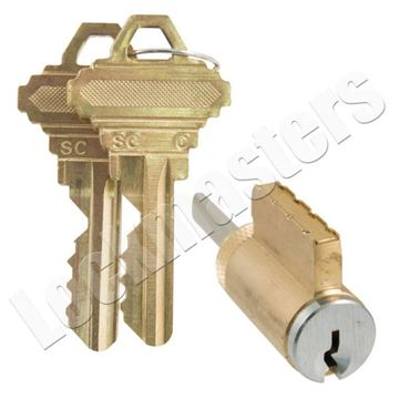 Picture of GMS Knob/Lever Cylinder 5 Pin; Schlage C Keyway