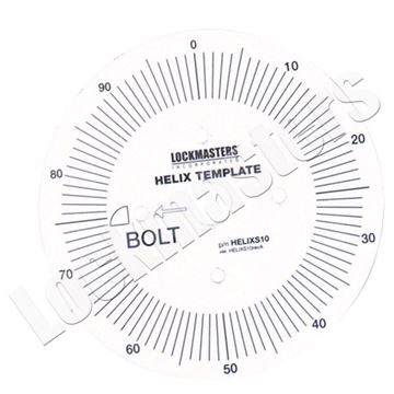 Picture of Helix Replacement Round Index Paper Template