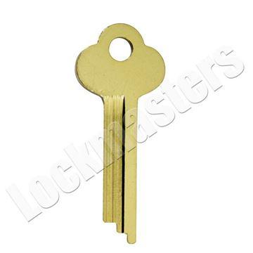 Picture of 1133A HHM/York Safe Deposit Key Blank