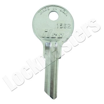Picture of Ilco  Hudson (H02L) Key Blank