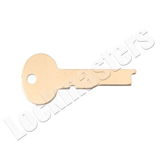 Picture of Kaba Ilco/S&G Safe Deposit Box 1334 Key Blank - Pack of 10 (Priced per blank)