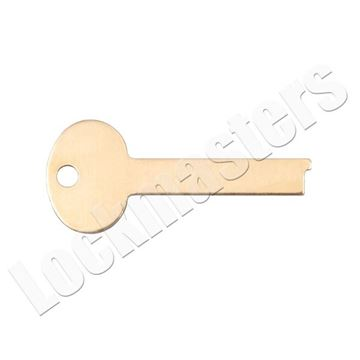 Picture of LeFebure 7300/7700 Series Safe Deposit Box LB6 Flat Renter & Guard Key Blanks - Price per Blank