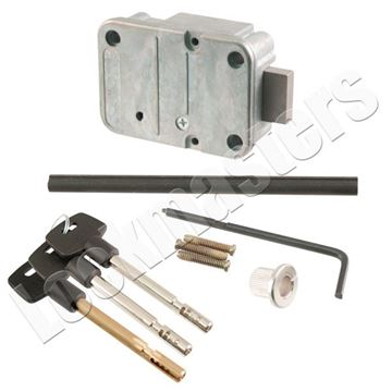 "Picture of LaGard 2200 Key Operated Lock with Pair of 3"" Keys"