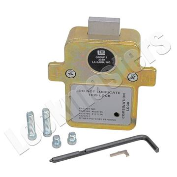 Picture of LaGard Group 2, 3 Wheel Lock with Relock cover