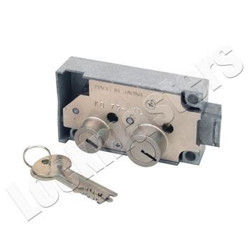 Picture of Security Corporation Kumahira Replacement 7320 Safe Deposit Fixed Lever Left Hand Lock