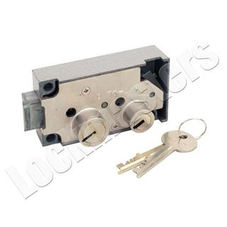 Picture of Security Corporation Kumahira Replacement 7320 Safe Deposit Fixed Lever Right Hand Lock