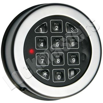 Picture of Lp Locks Base Line Keypad Only - Matte Chrome Finish