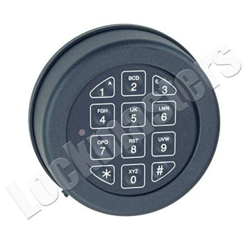 Picture of Lp Locks Base Line Keypad Only - Black Finish