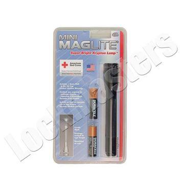 """Picture of Mini """"AA"""" Maglite Flashlight"""