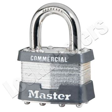 Picture of Master Lock Model 21 Laminated Steel Padlock Without Cylinder